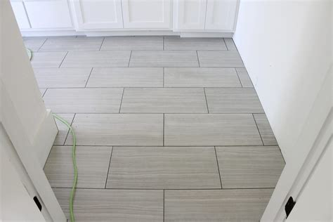best way to lay tile in a small bathroom