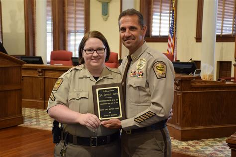 New Hanover County Records Deputy Of The Year New Hanover County