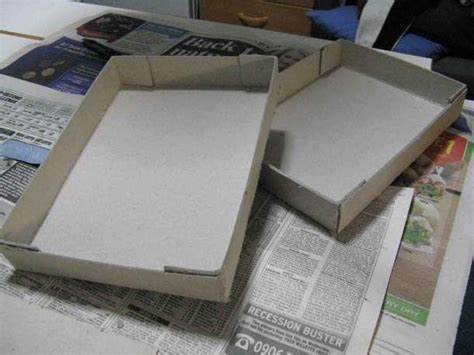 como hacer carabelas de cartn como hacer cajas de carton corrugado cuadradas images