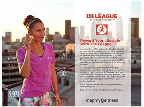 Sports Authority Gift Card What To Do - sports authority mapmyfitness challenge 1000 gift card giveaway