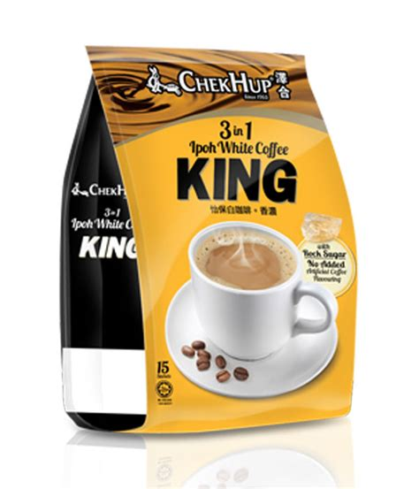 King Coffee chek hup 3 in 1 ipoh white coffee king white coffee