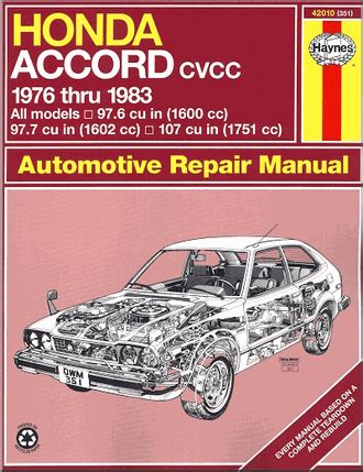 what is the best auto repair manual 1983 mazda rx 7 electronic toll collection manual book honda accord 1983