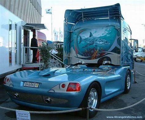 Smartcase Air 2 Auto Lock semi cool quot shark quot truck custom semi cab semis