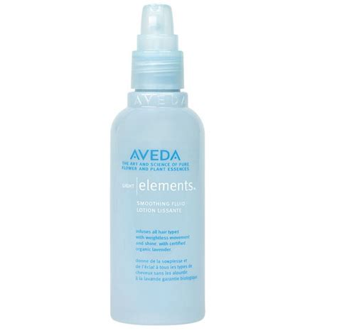 review aveda light elements smoothing fluid spoilt