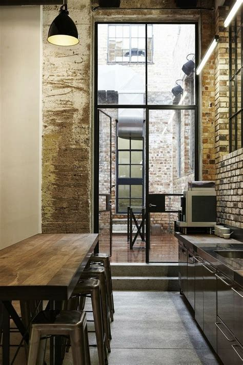 industrial home interior design industrial doors an accent in modern home interior design
