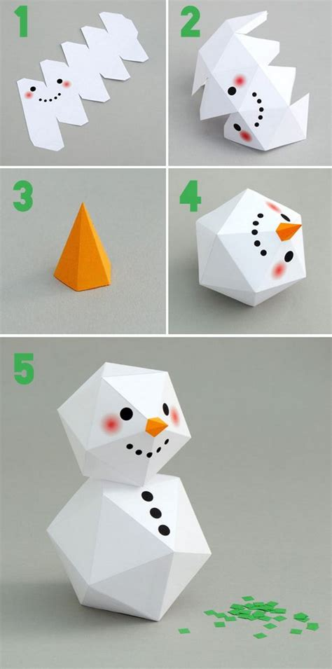 How To Make A Snowman Out Of Paper Plates - 25 diy snowman craft ideas tutorials