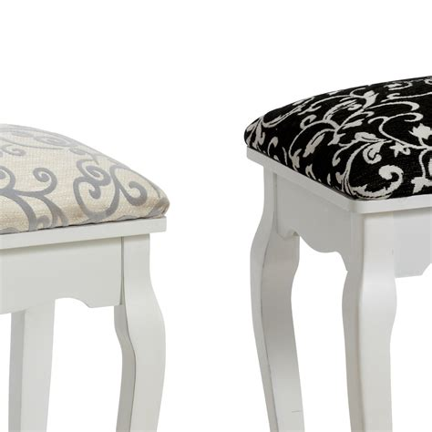 Dressing Table Stool Chair by Stool Quot Baroque Quot White For Dressing Table