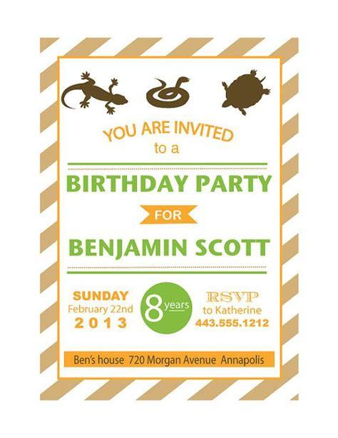 printable reptile stationary reptile birthday party invitation printable safari