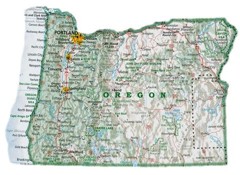 map of s w oregon 17 best images about oregon maps on highway