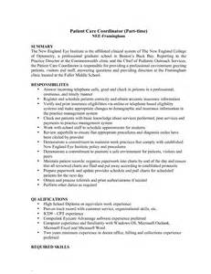 Patient Care Assistant Sle Resume by Service Coordinator Resume
