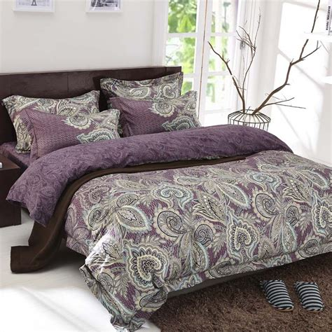 luxury tribute silk bedding sets queen king size 4pcs