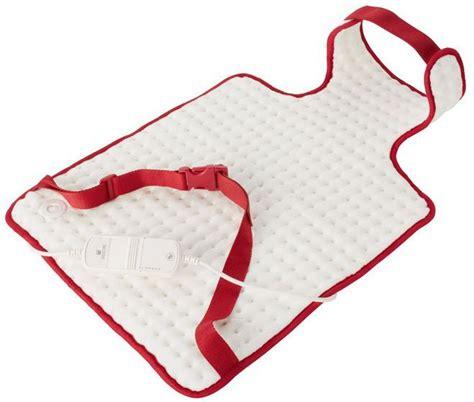 cuscino riscaldato sanitas cuscino riscaldato per schiena e
