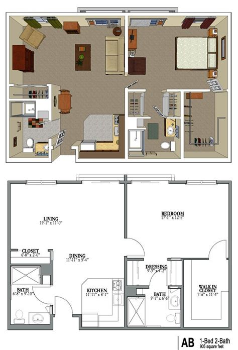 Assisted Bathroom Layout by Senior Housing Floor Plans Gurus Floor