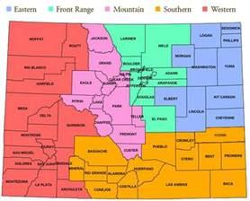 County Map Colorado by Pics Photos Colorado County Map Lines