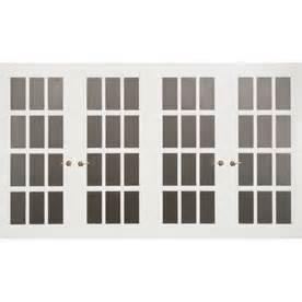 shop frenchporte series 15 ft x 7 ft white