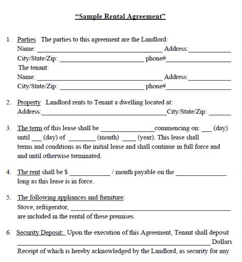 house lease template best photos of house rental agreement template free rental agreement template house