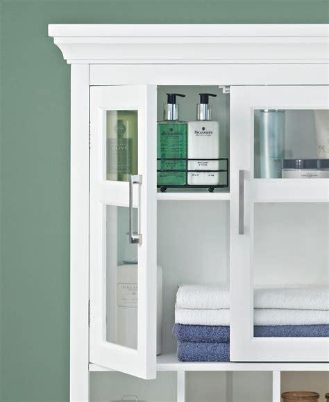 amazon bathroom wall cabinets amazon com simpli home avington two door wall cabinet