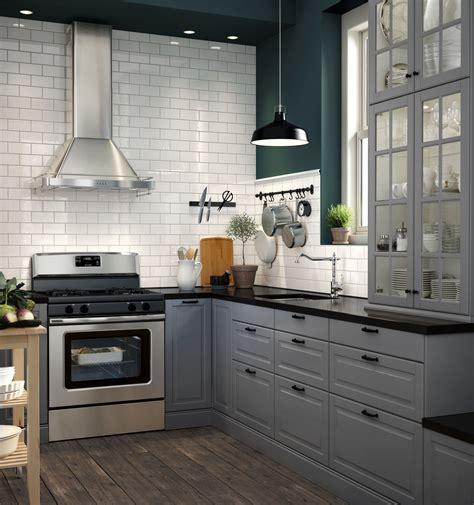 keuken ikea bodbyn bodbyn ladefront grijs kuchnia ikea pinterest