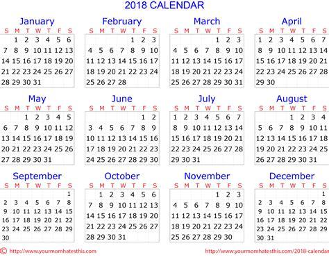 Kuwait Calend 2018 2018 Calendar Quality Calendars