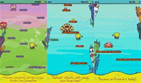 doodle jump spongebob squarepants doodle jump spongebob squarepants este aplicatia gratuita