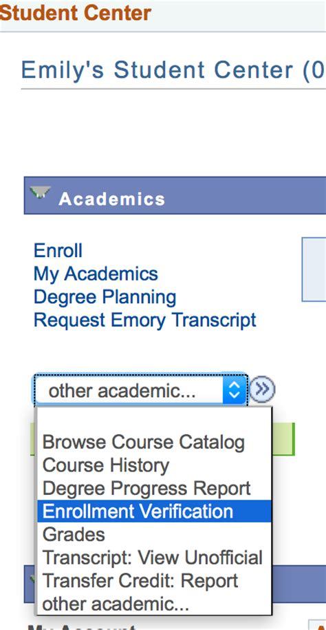Emory Academic Calendar Enrollment And Degree Verification Emory