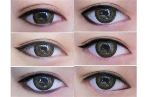 eyeliner tutorial monolid 10 monolid make up tricks