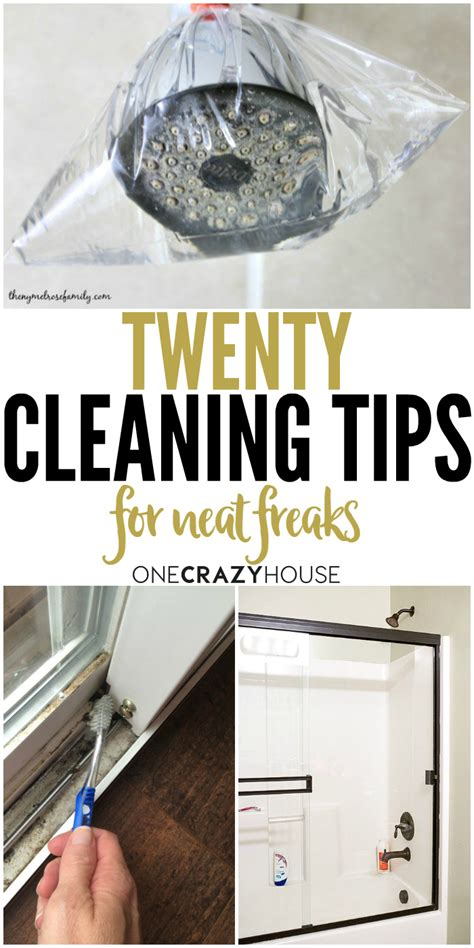 cleaning tips 20 cleaning tips for neat freaks