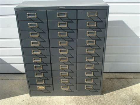Vintage Steelmaster 30 Drawer File Cabinet on Etsy, $150