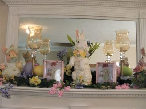 Easter Mantel Decorations by 33 Best Ideas About Easter Fireplace Decor On