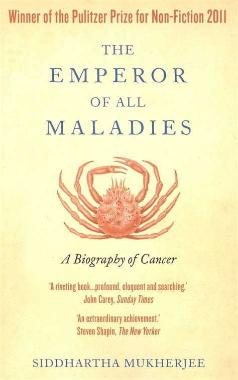 biography cancer book the emperor of maladies a biography of cancer english