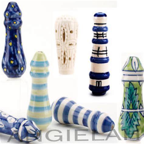 handmade ceramic light pulls cord venetian blind fan