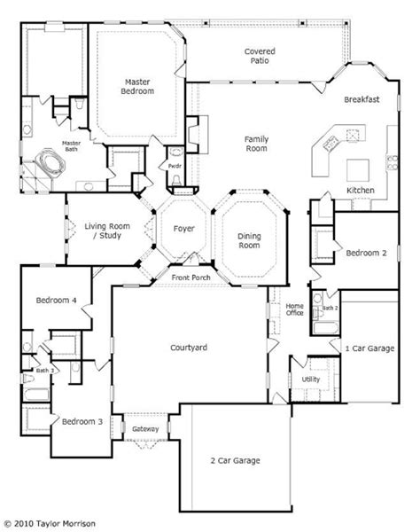 taylor homes floor plans cool taylor morrison homes floor plans new home plans design