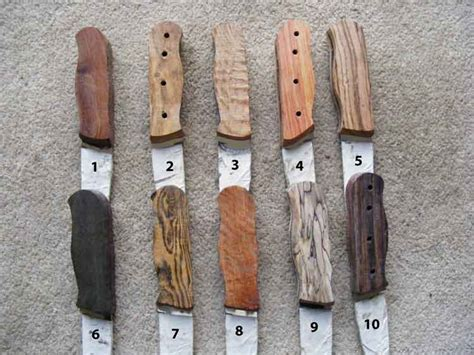 types of knife handles frenchy s custom knives and sticks for a selection of