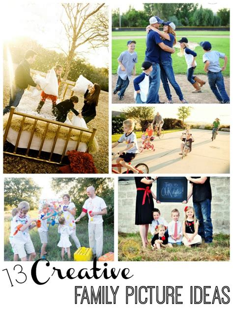 picture ideas for families 13 creative family picture ideas