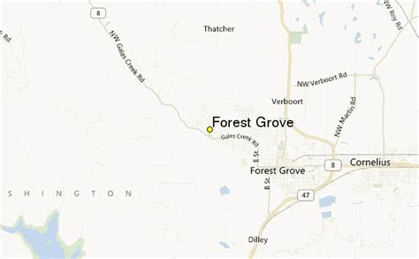 forest grove oregon map forest grove weather station record historical weather