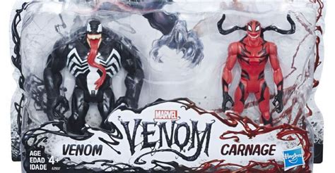 Hasbro 3 Venom hasbro reveals new venom and carnage figures for 2018