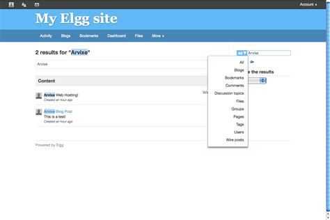Search Advanced Advanced Search For Elgg Arvixe
