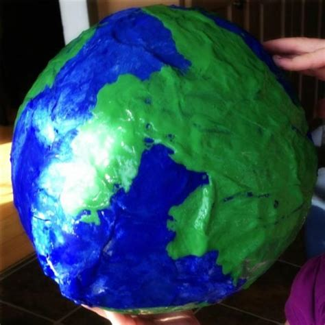 How To Make Paper Earth - project paper mache planets page 3 pics about space