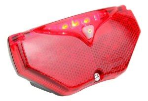Ultrasport Automatisches Led Fahrrad Rücklicht by Ultrasport Automatik Led Fahrrad R 252 Cklicht 5 Led S