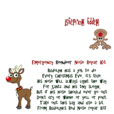 printable reindeer noses labels best photos of reindeer noses template printable