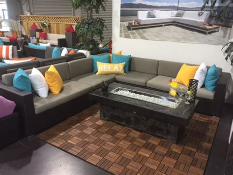bel air large patio sectional sofa vancouver sofa company