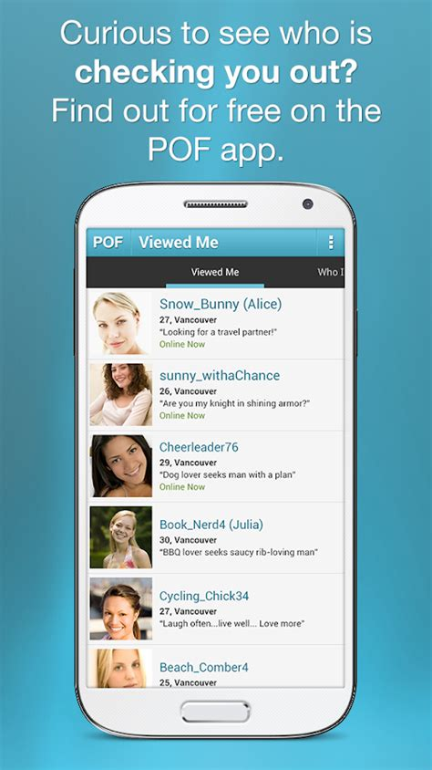 pof app for android pof free dating app android apps on play