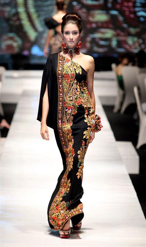 Fashion Modern Ethnica Dress Navy Modis Terbaru Murah design baju batik ideakube magz