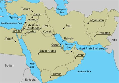 middle east map review and regional geo politics orientalreview org