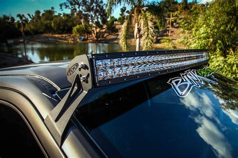 ford f150 light bar mounts addictive desert designs 54 light bar roof mount for your