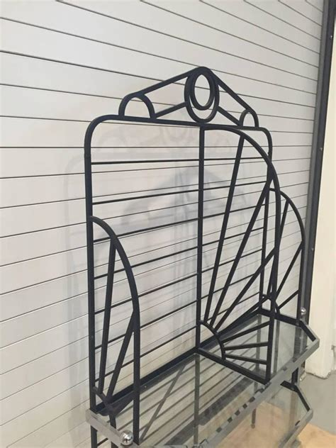 Bakers Racks For Sale French Chrome And Glass Bakers Rack For Sale At 1stdibs