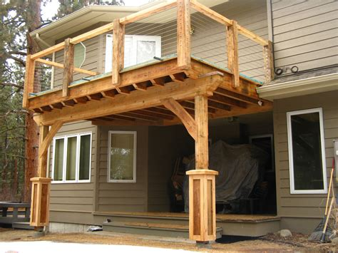 how to build a porch with roof