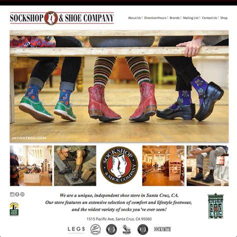 shoe website sockshop shoe co website maximum impact design