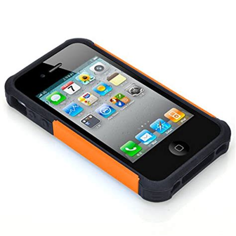 Apple Iphone 4 4s Shock Proof Future Armor Hybrid Casing Sarung iphone 4s iphone 4 chtech fashion shockproof durable hybrid dual layer armor