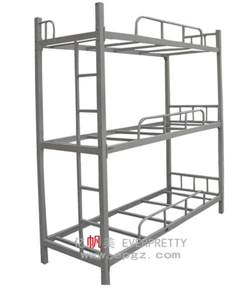Modern Heavy Duty Adult Steel Triple Metal Loft Bunk Beds Heavy Duty Bunk Beds For Adults